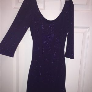 Eclipse Purple Dress